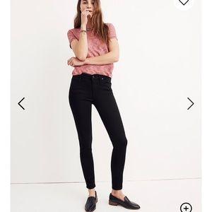 "Madewell 8"" Skinny Skinny Jeans Black Carbondale"